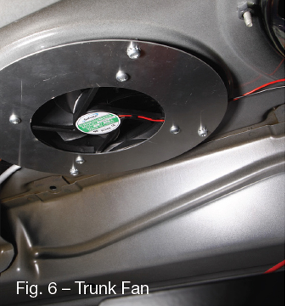 Trunk Air Circulation Fan
