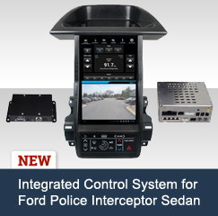 New:  The Integrated Control System for Ford Police Interceptor Sedan